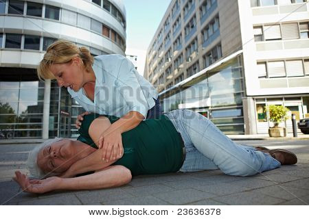 First Aid And Recovery Position
