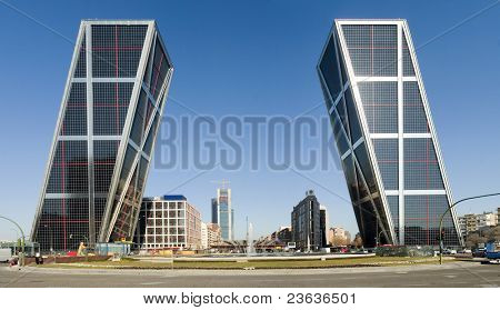 towers, Madrid Spain