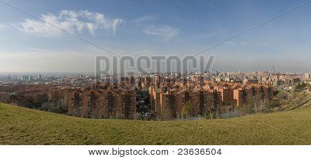 view from siete tetas, Madrid Spain