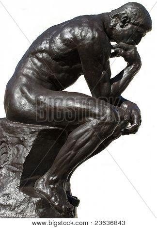 Denker, isoliert