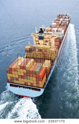 Containerschiff