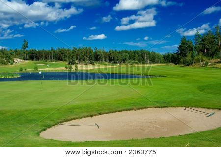 Golf Course In Sweden