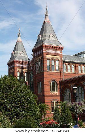 Smithsonian Castle in D/C