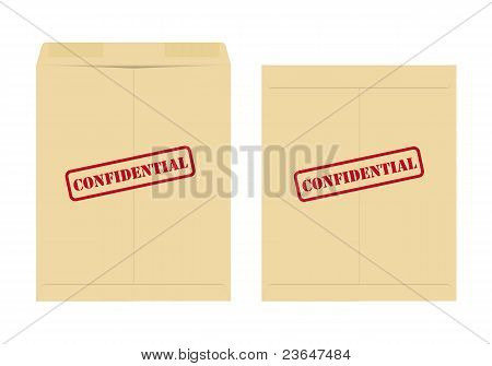 Confidential envelope