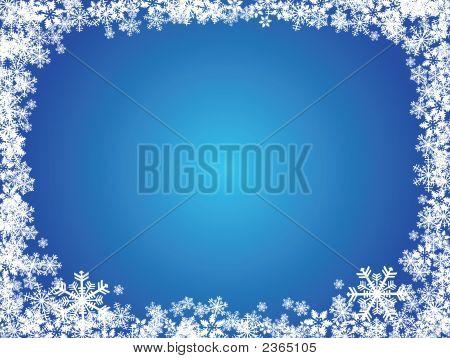 Fondo de Navidad copo de nieve