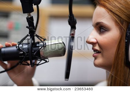 Radio Host Speaking