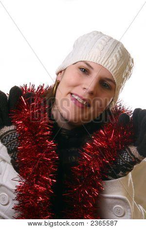 Lächelnd Dor-Weihnachten