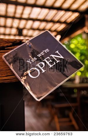 YES!. We're open