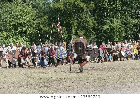 Vikings Ready For The Battle