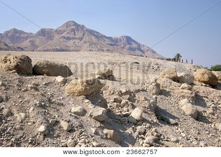 Desert near the Dead Sea
