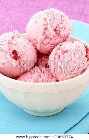 Delicious Mixed Berries Ice Cream