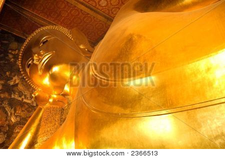 The Reclining Buddha Wat Pho Bangkok Thailand