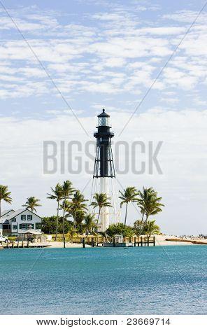 Hillsboro Lighthouse, Pompano Beach, Florida, USA