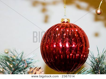 Christmas Ornament - Red Bauble