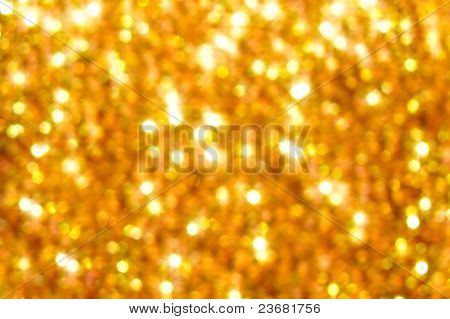 Golden Blurring Background