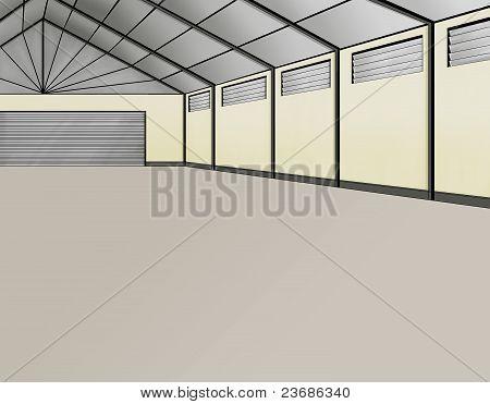 Wharehouse Empty