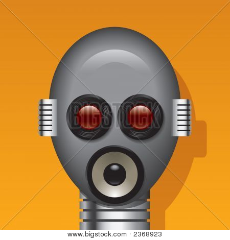Media Robot Head