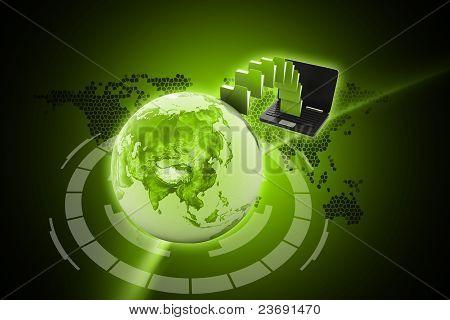 Data transfering concept