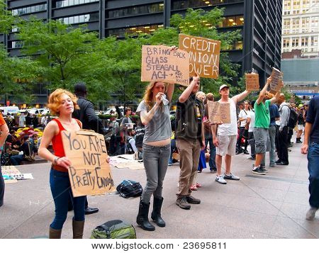 Occupy Wall St. Protest