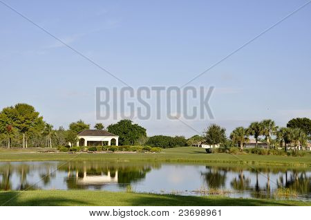 Golf Course In Naples, Florida