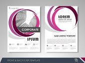 Modern Purple Brochure Design, Brochure Template, Brochures, Brochure Layout, Brochure Cover, Brochu poster