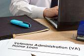 Veterans Administration (va) Home Loan Application Form. poster