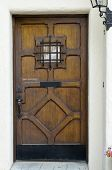 Crafty Wooden Door