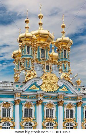 Catherine's Palace In Tsarskoe Selo (pushkin), Russia