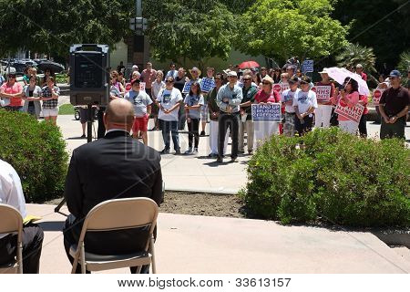 Stand Up for Religious Freedom Rally