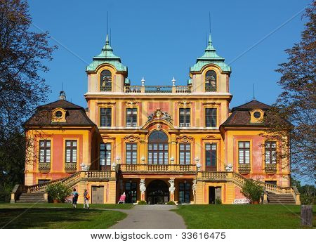 Schloss Favorite In Ludwigsburg.baden-wurttemberg,germany