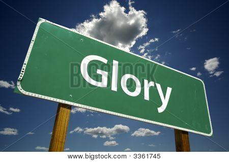 Glory Road Sign