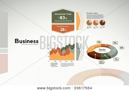 Business Report Graphics - Graphs And Statistics