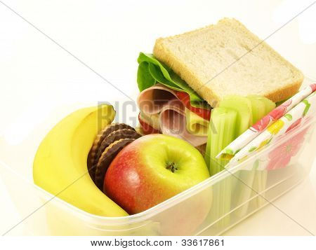 School Lunch, Isolated