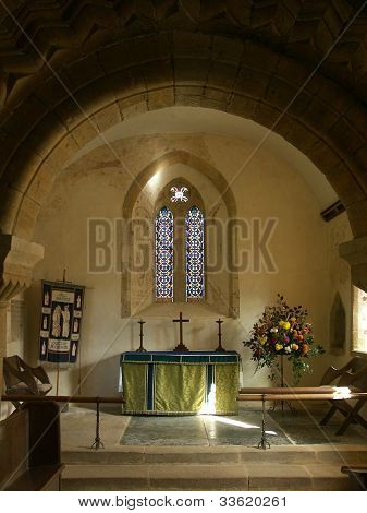 Chancel, Norman Church