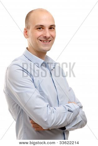 Portrait Of A Businessman Standing