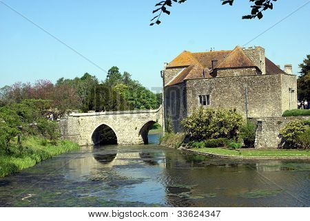 gatehouse and bridge