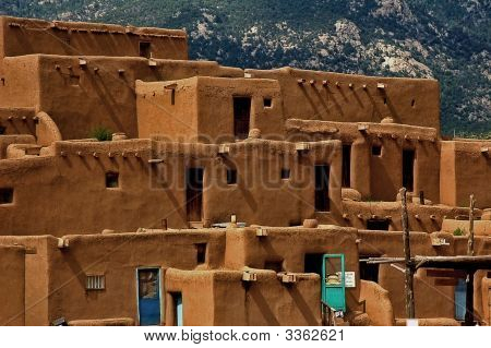 Taos Pueblo North Section