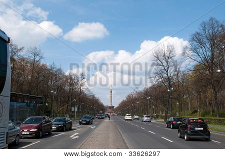The Victory Column - monument in Berlin