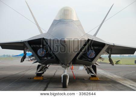 F22 Raptor Airplane