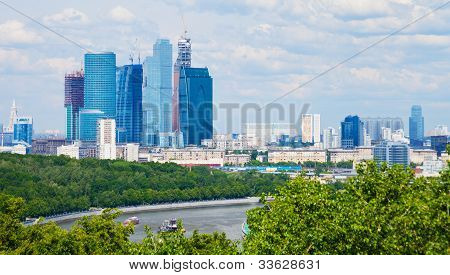 Cityscape Of New Moscow