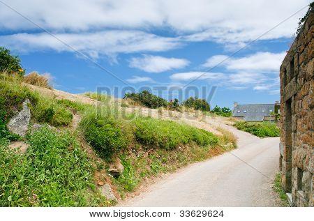 Road In Breton Village