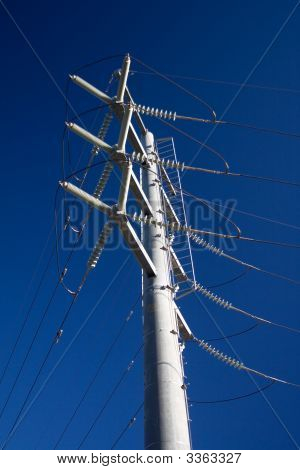 Electricity Power Pole