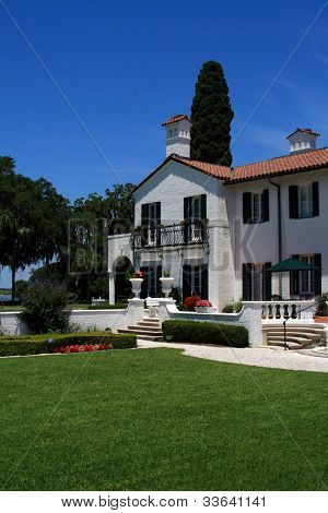 Beautiful historical building on Jekyll Island Georgia