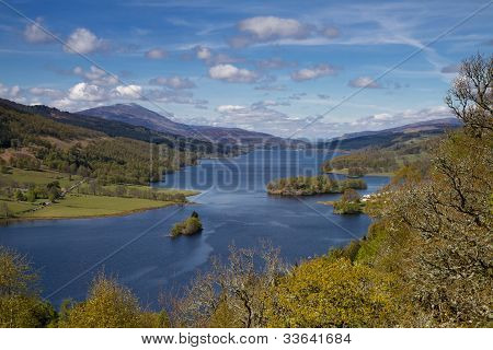 Lookout Queens View At Loch Tummel