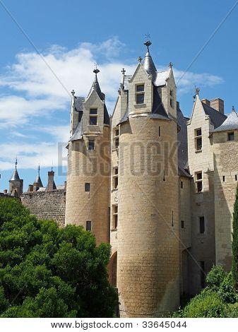 Montreuil Bellay Castle, France.