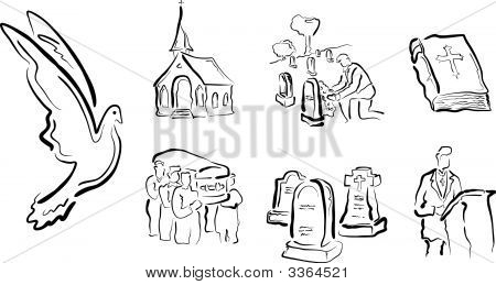Funeral Religious Icons