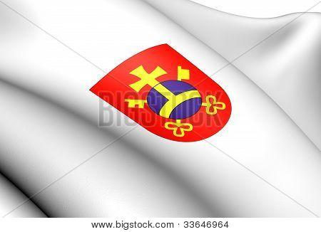 Ostrow Wielkopolski Coat Of Arms, Poland.