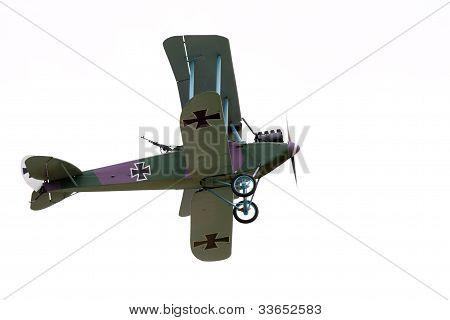 老式双翼飞机 库存照片和库存图片