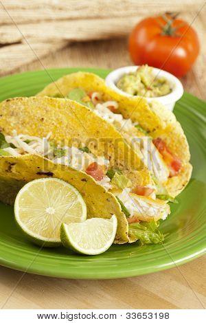 Tacos de pescado casera