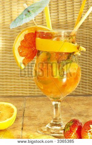 Nonalcoholic Freshening Drink